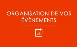 Organisation d'évènement
